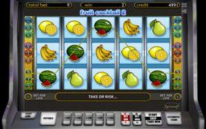 Азартные игры бесплатно fruit cocktail
